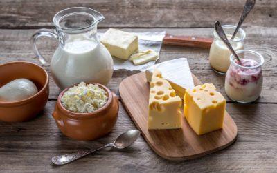 Chế phẩm từ sữa gây táo bón