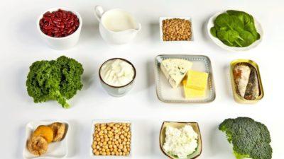 chỉ 30% calci được hấp thu từ thực phẩm hàng ngày