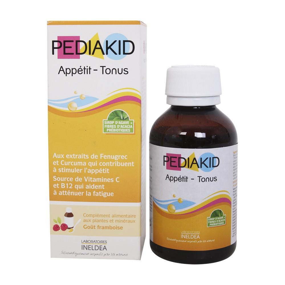 Siro Pediakid Appetit Tonus - Hỗ trợ bé ăn ngon, hấp thu chất dinh dưỡng tốt.